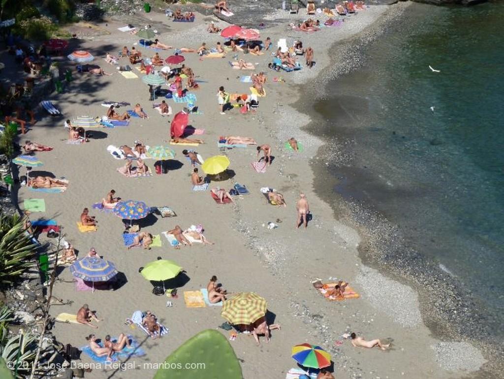 Benalmadena Bajada a la playa Malaga