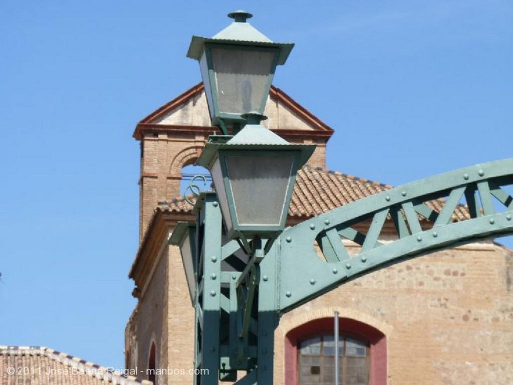 Malaga Puerta y Mercado de Atarazanas Malaga