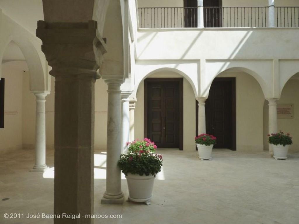 Malaga Patio del Palacio de Villalon Malaga