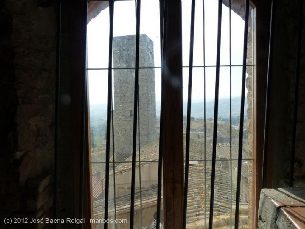 San Gimignano Torres de los Salvucci, Chigi y Rognosa Siena