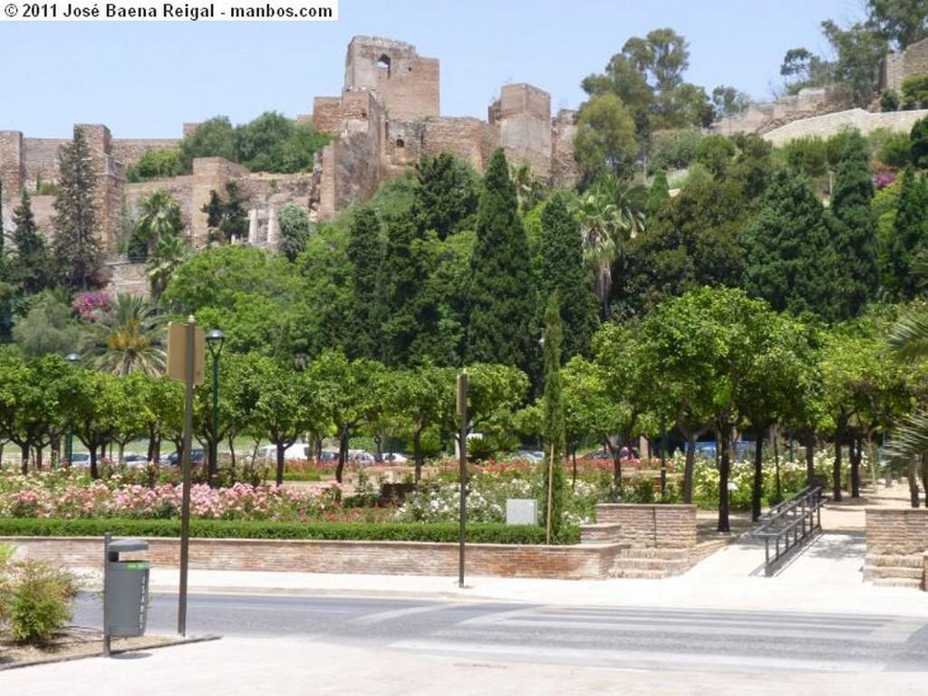 Malaga Murallas de la Alcazaba Malaga