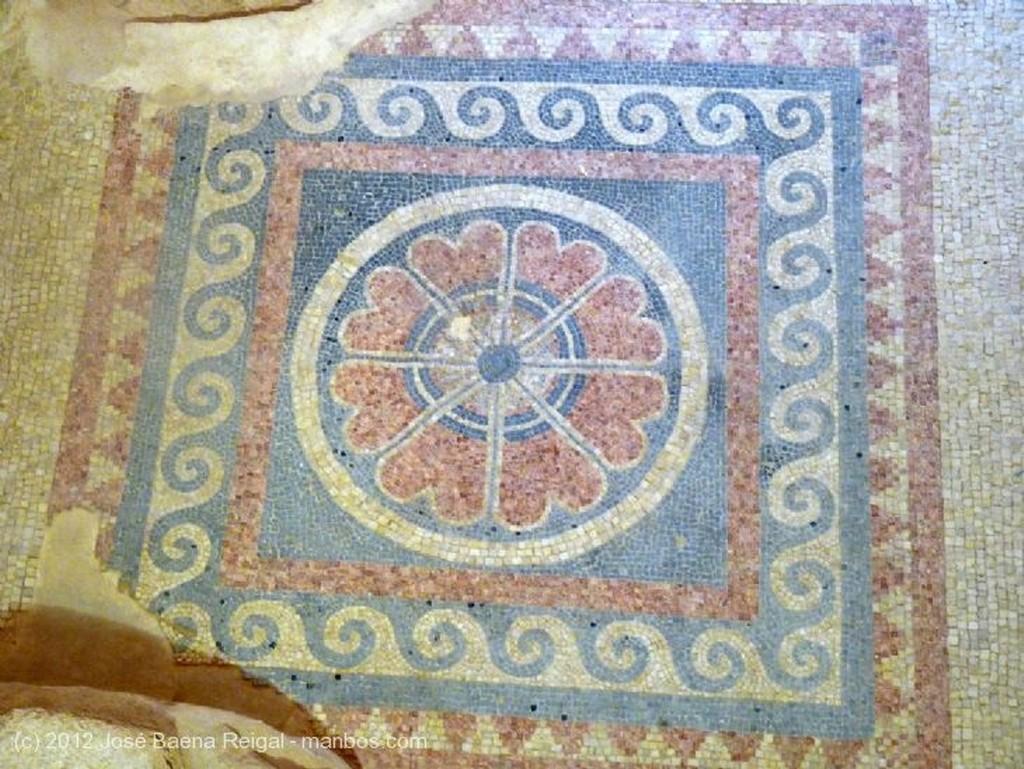 Masada Ruinas con mosaico Distrito Meridional