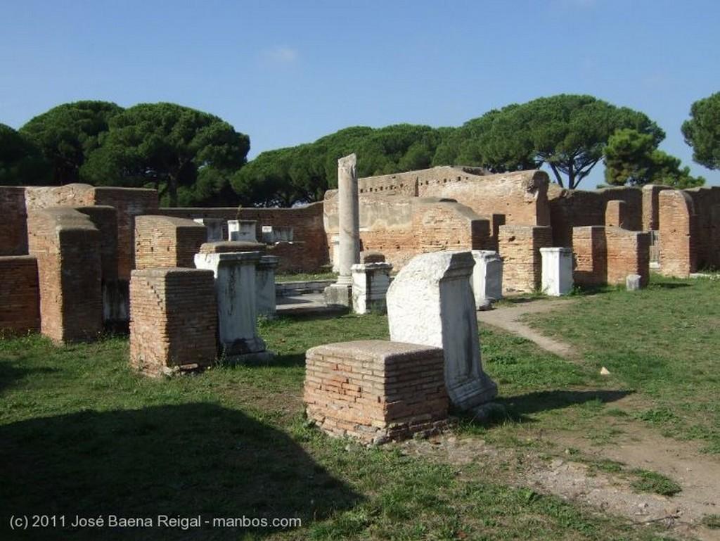 Ostia Antica Termas Roma