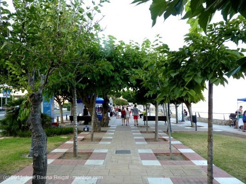 Benalmadena Playa de Santa Ana  Malaga