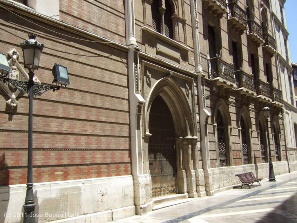 Malaga Zona monumental Malaga