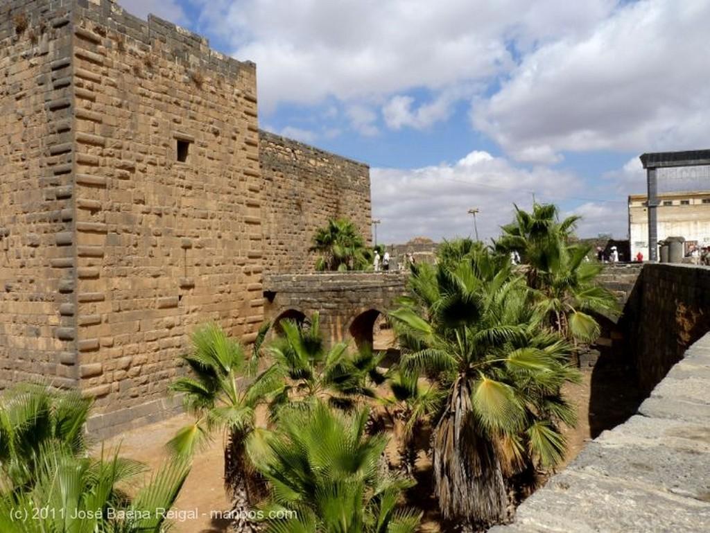 Bosra Ciudadela y ruinas romanas Dera