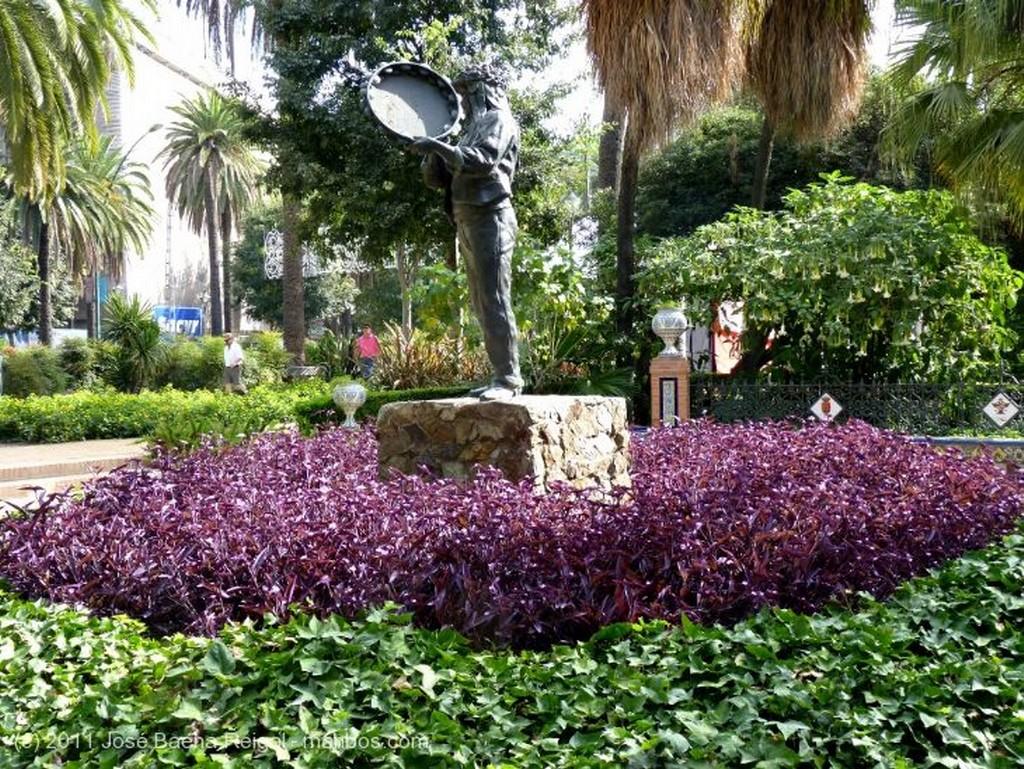 Malaga Fuente del siglo XIX Malaga