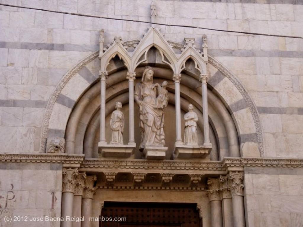 Pisa Iglesia de San Michele in Borgo Toscana