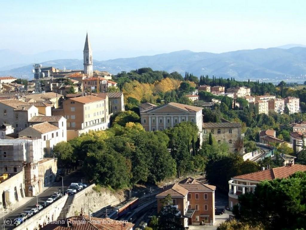 Perugia Octubre dorado Umbria