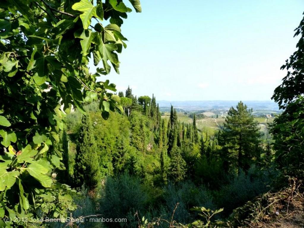Siena Desde mi hotel Toscana