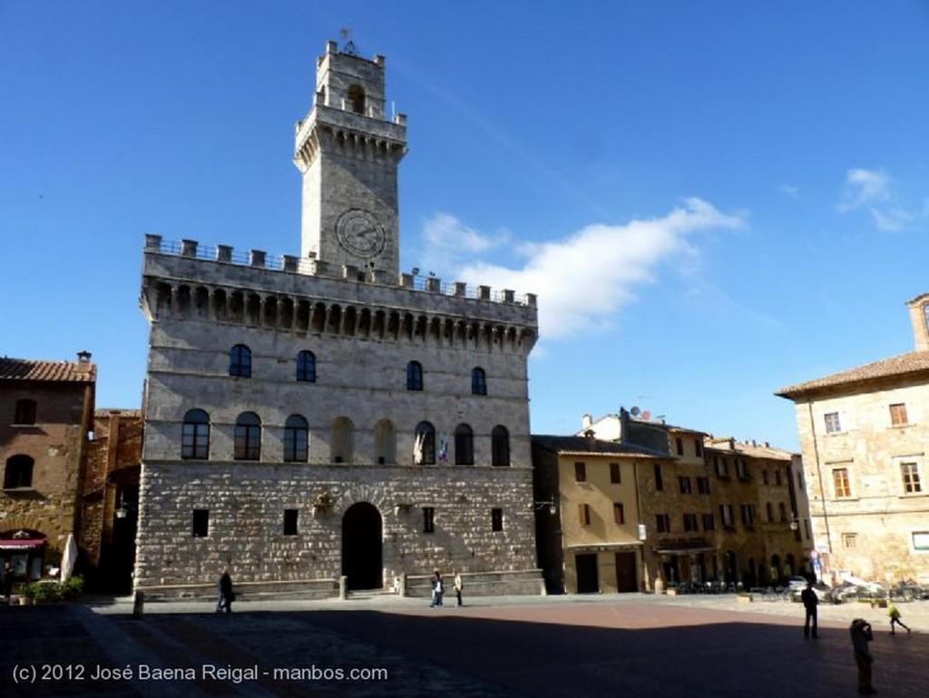 Montepulciano Terraza apacible Siena
