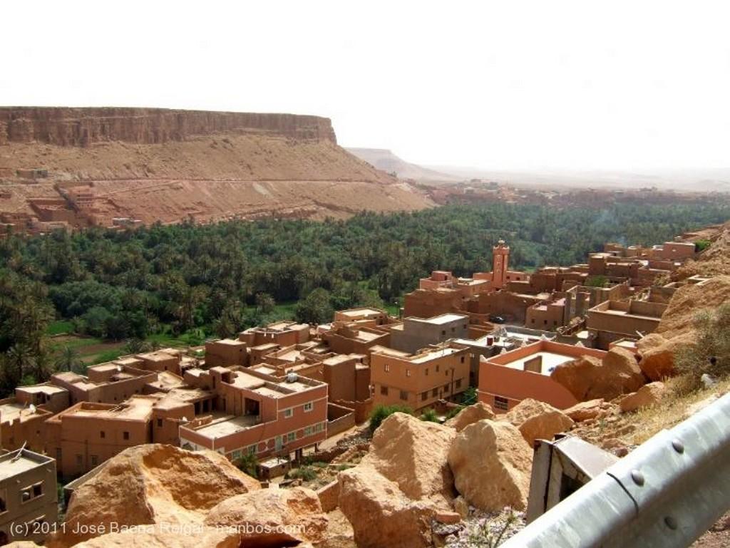 Gargantas del Todra Casas bereberes Ouarzazate