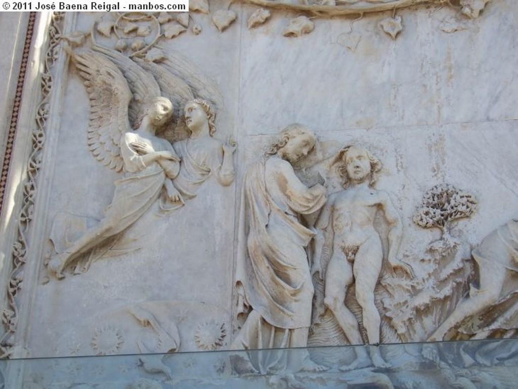 Orvieto Pilastra exterior Umbria