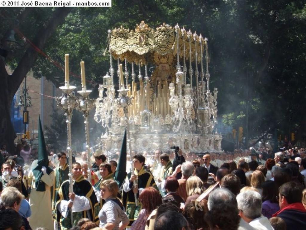 Malaga Virgen de Lagrimas y Favores  Malaga