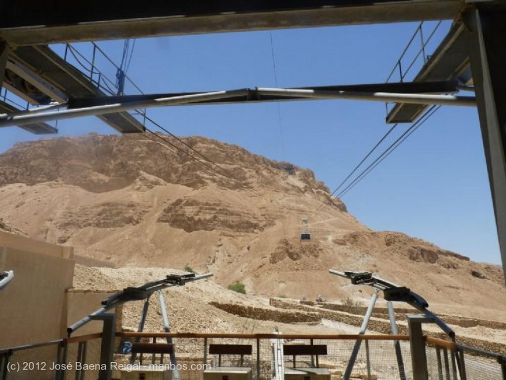 Masada Cabina del telesferico Distrito Meridional