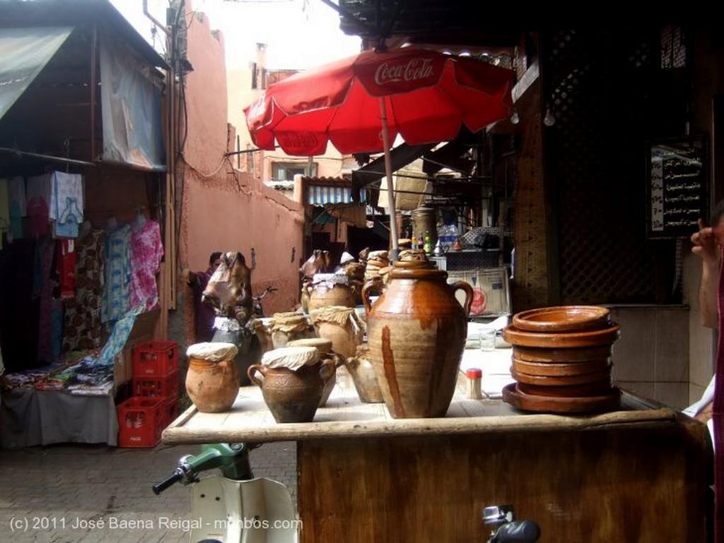 Marrakech Vendedores de cestas Marrakech