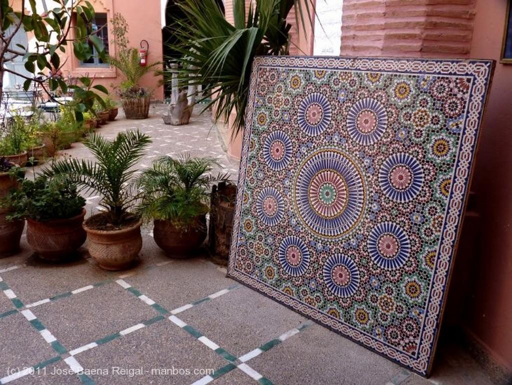 Marrakech Mezquita de Ben Youssef Marrakech