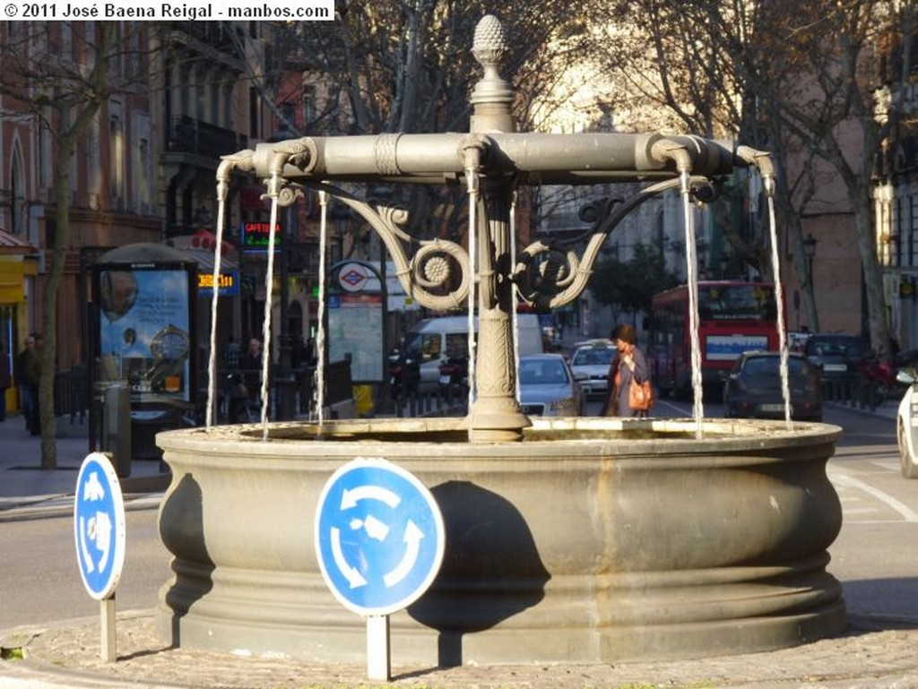 Madrid Boca de Metro castiza Madrid
