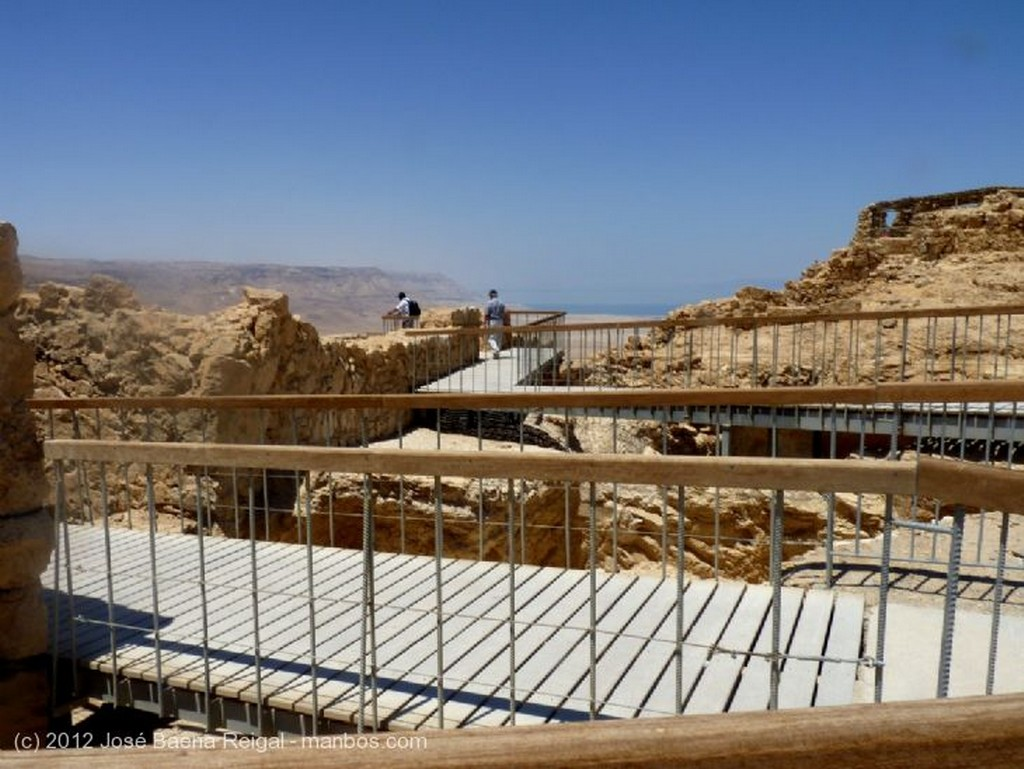 Masada Muralla exterior Distrito Meridional