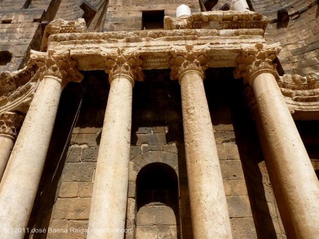 Bosra Scaenae frons impresionante Dera