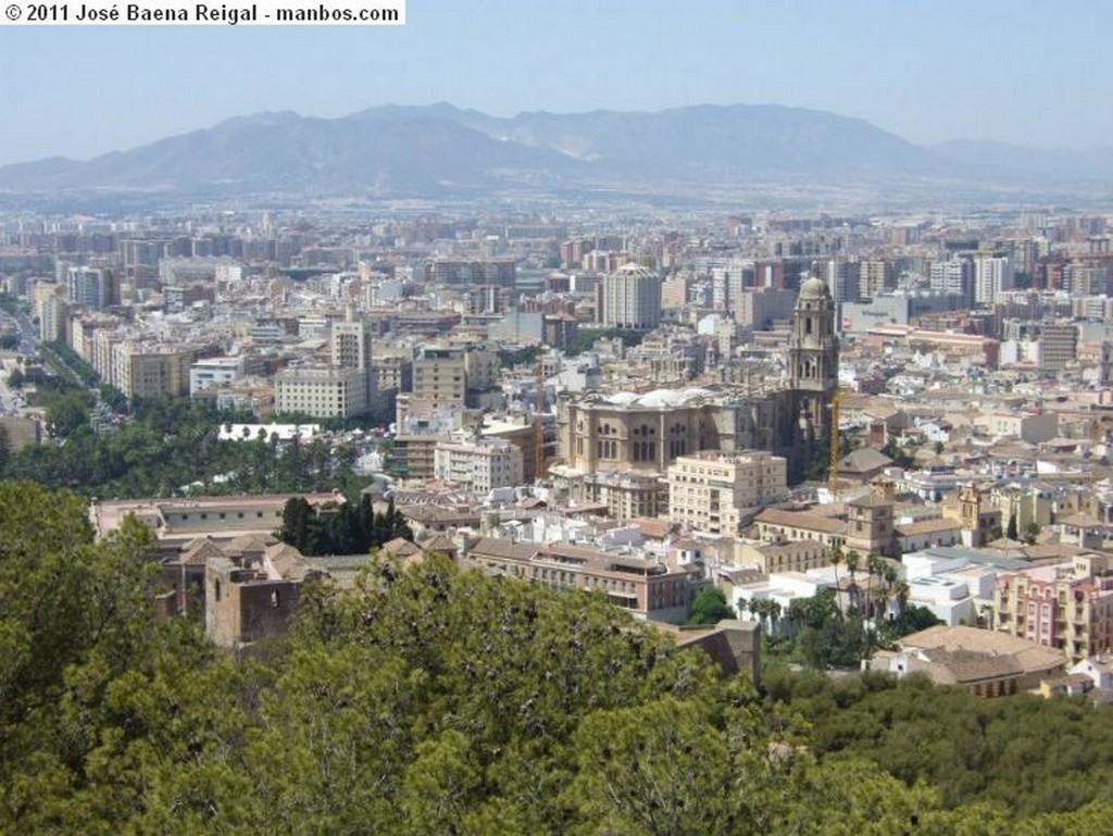 Malaga Parador Nacional de Gibralfaro Malaga
