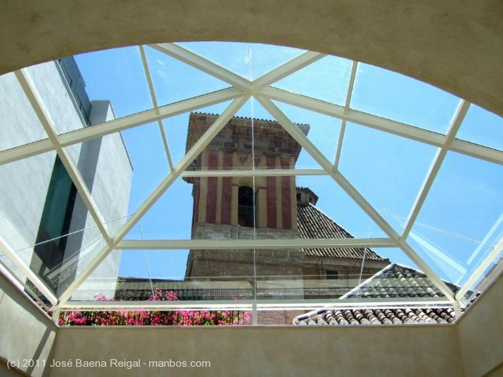 Malaga Galeria del patio central Malaga