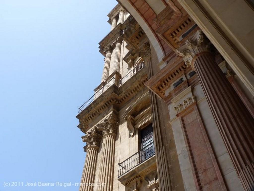 Malaga Portada de la Catedral Malaga