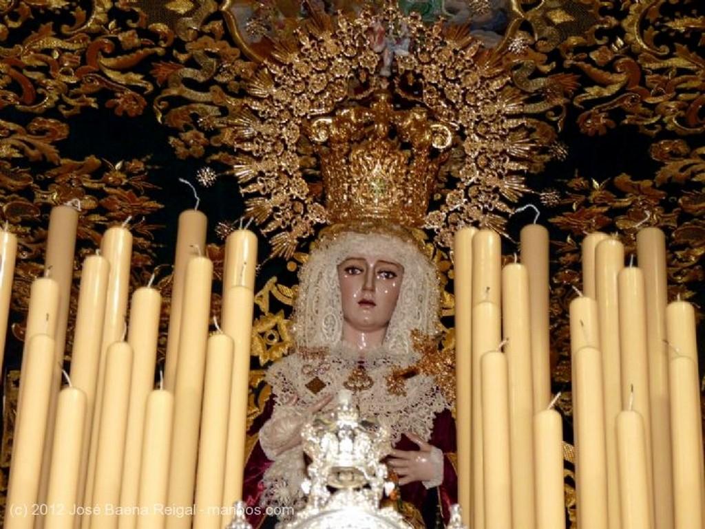 Malaga Trono Virgen del Mayor Dolor Malaga
