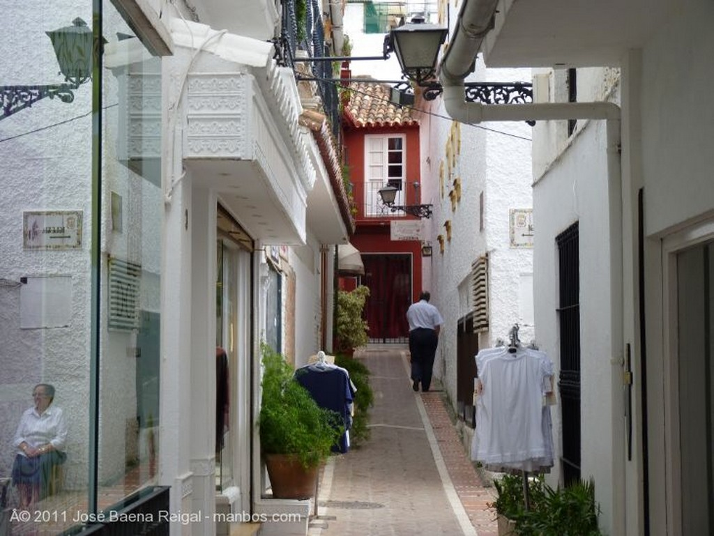 Marbella Escena callejera Malaga