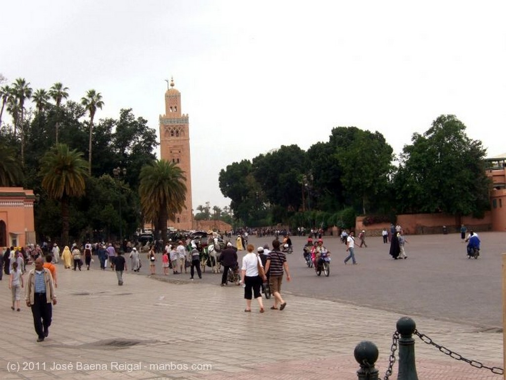 Marrakech Calle comercial Marrakech