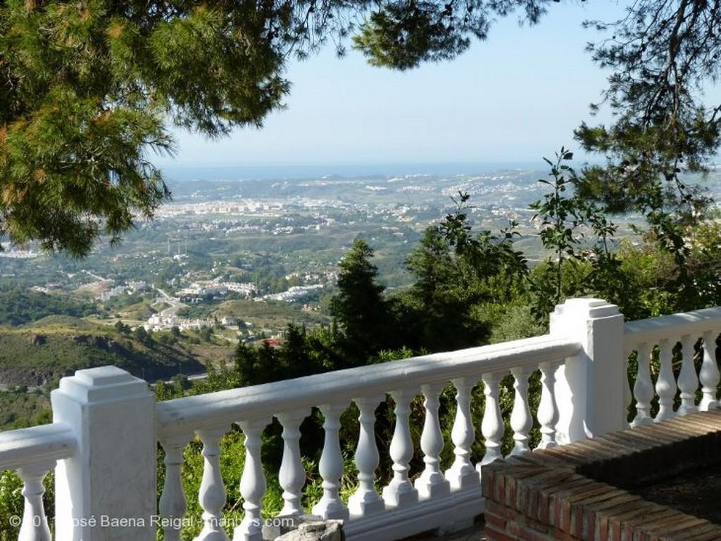 Mijas Luces de atardecer Malaga