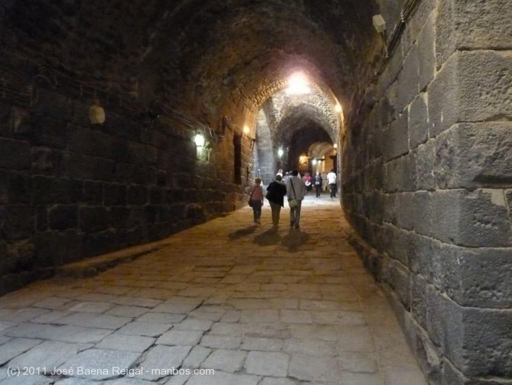 Bosra Museo en la terraza  Dera