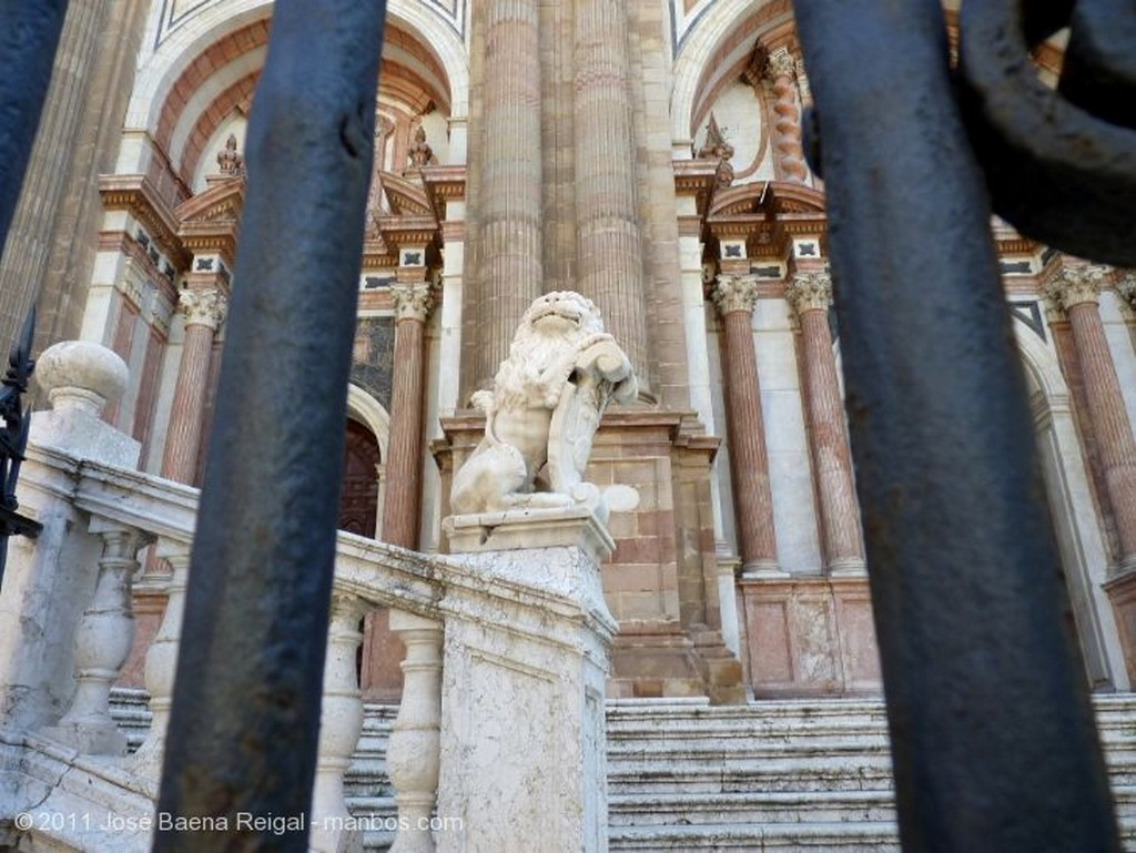 Malaga Portada de la Encarnacion Malaga