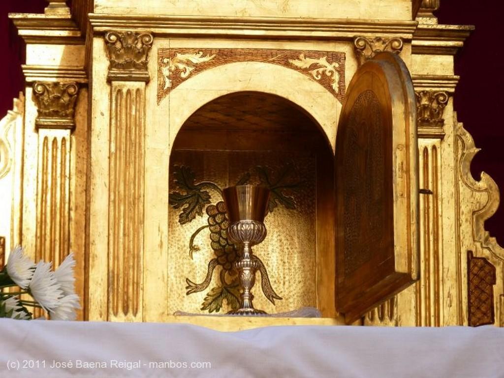 Malaga Detalle del Altar Malaga