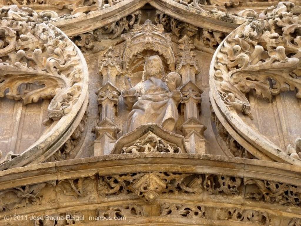 Malaga Portada del Sagrario Malaga