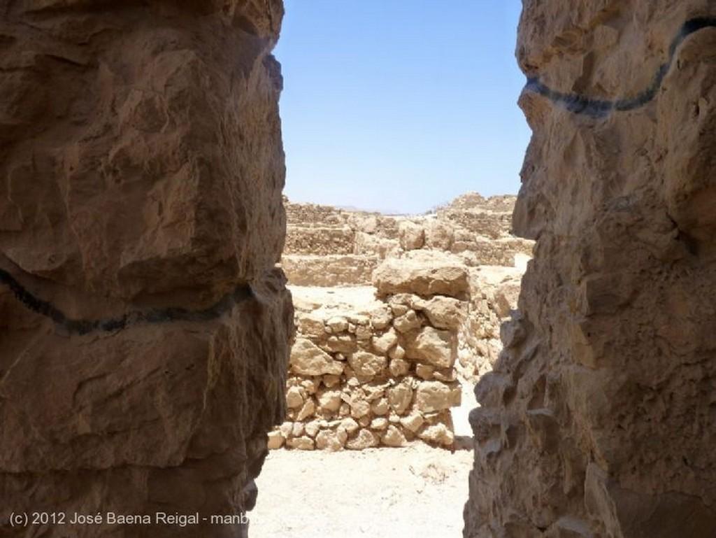 Masada Sendero de la Rampa Distrito Meridional