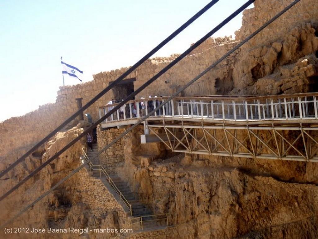 Masada Pasillo del telesferico Distrito Meridional