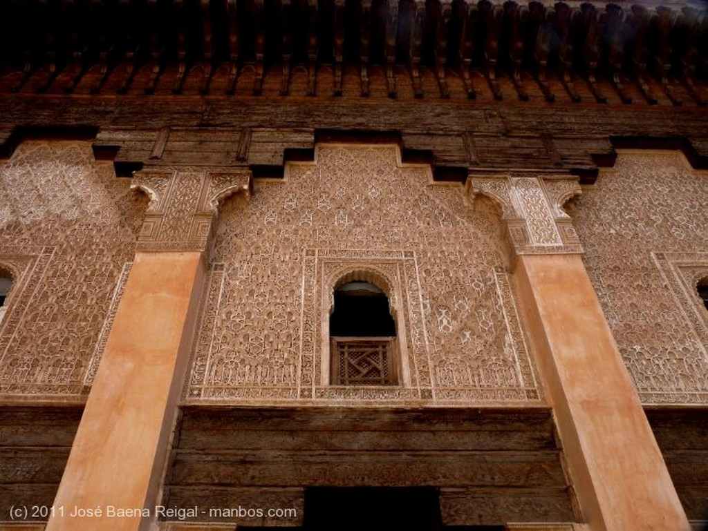 Marrakech Dintel muy decorado Marrakech