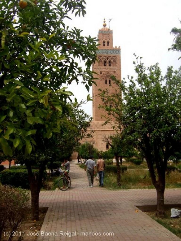Marrakech Perspectiva con la Koutoubia Marrakech