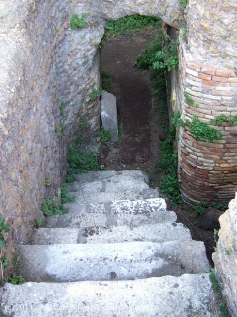 Ostia Antica Via de los Foros Roma
