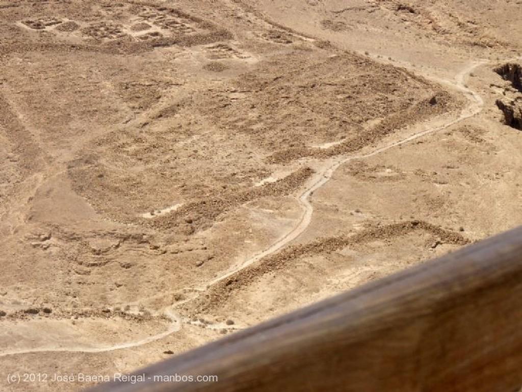 Masada Rampa del asedio romano  Distrito Meridional