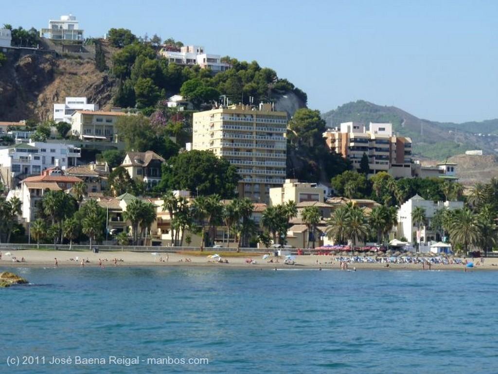 Malaga Estelas sobre la mar Malaga