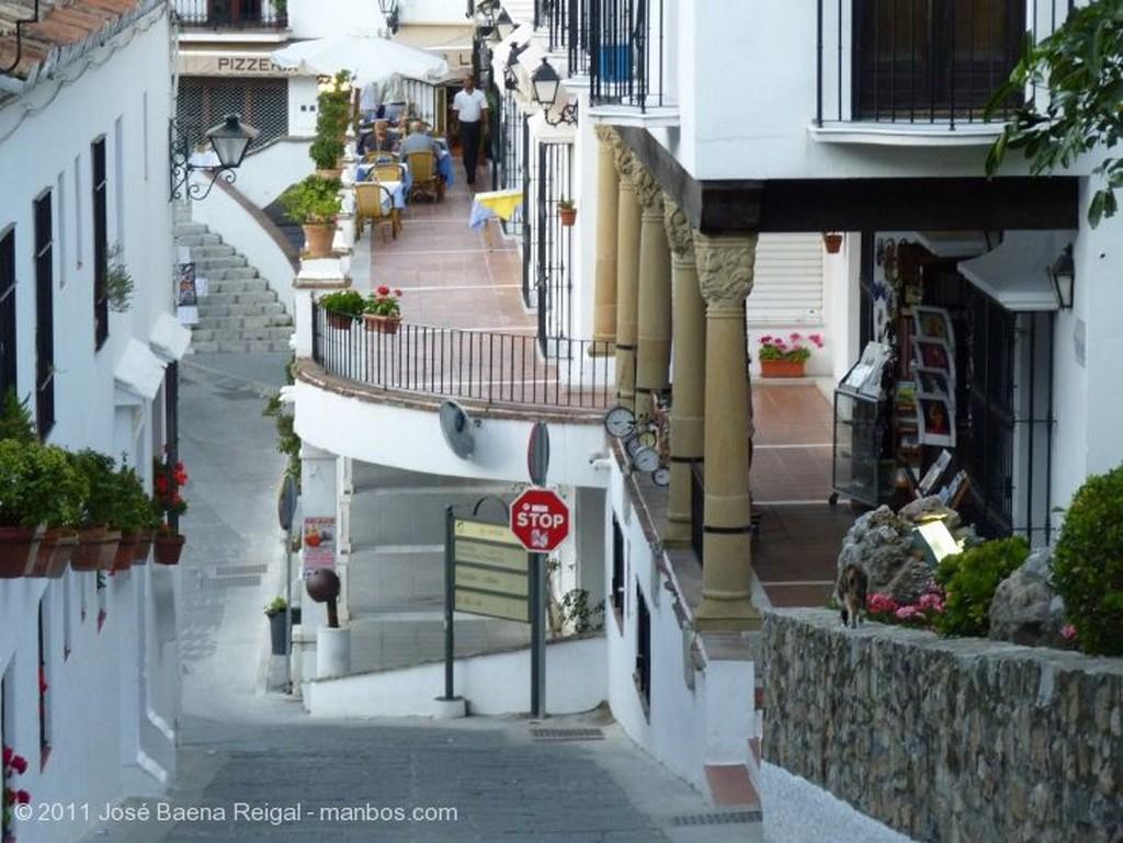 Mijas Con la sierra al fondo Malaga