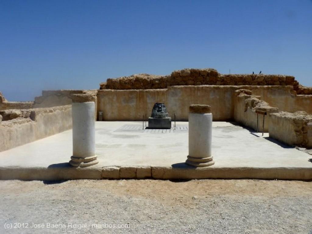 Masada Maqueta del Palacio Herodiano Distrito Meridional