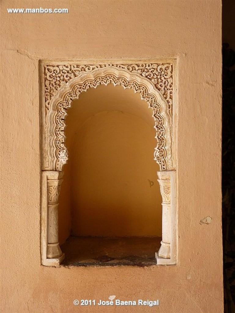 Malaga Detalle del Arco  Malaga