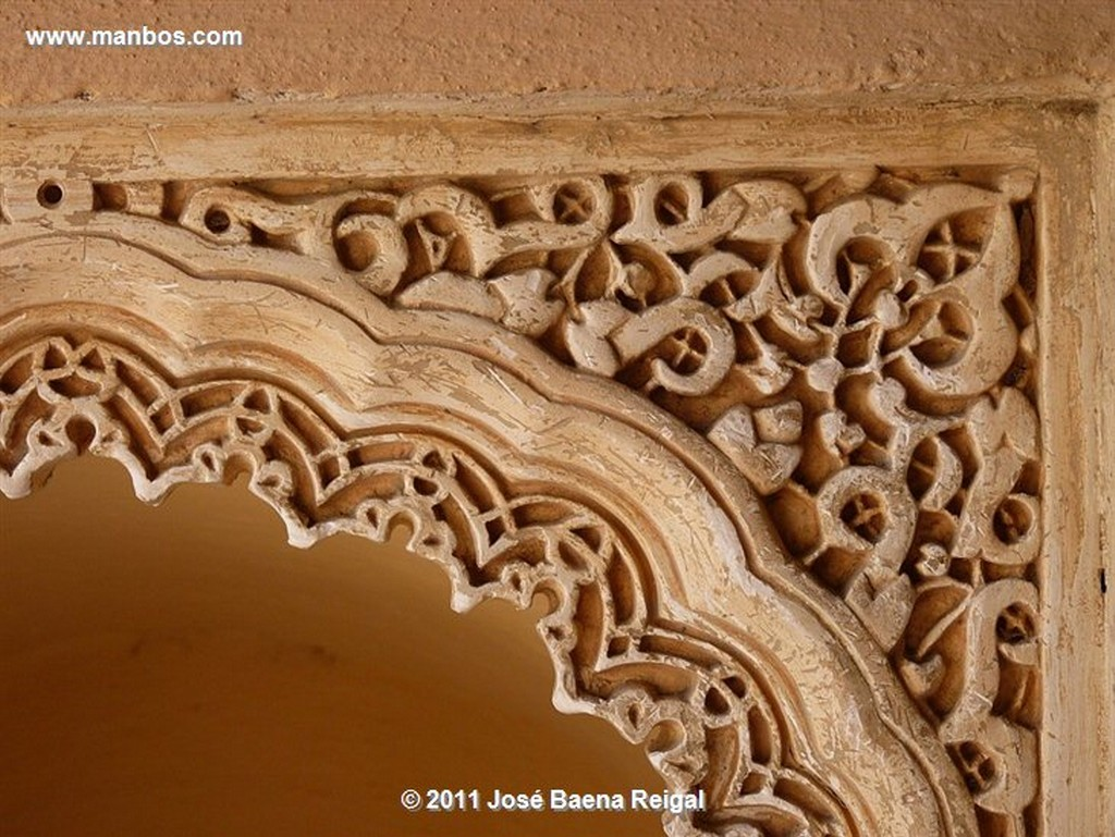 Malaga Hornacina en el muro  Malaga