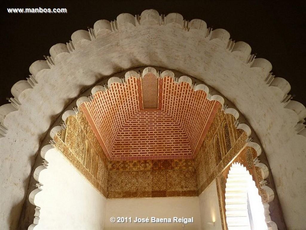 Malaga Muralla y catedral  Malaga