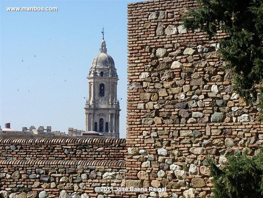 Malaga La primera muralla  Malaga