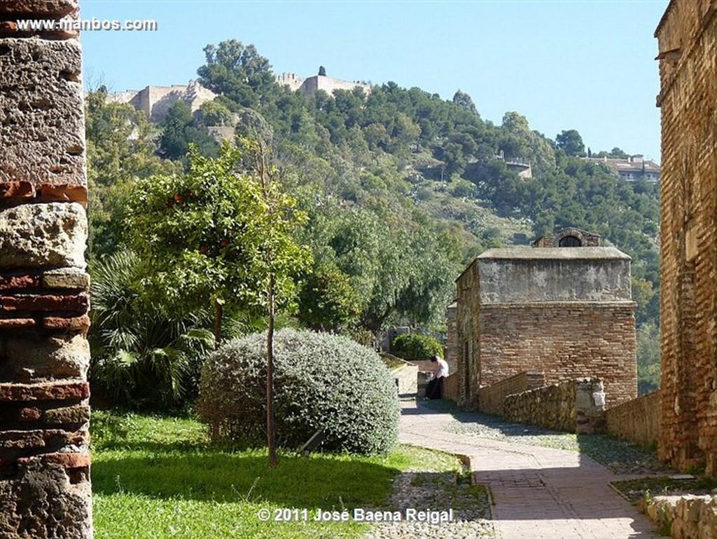 Malaga La Segunda Muralla  Malaga