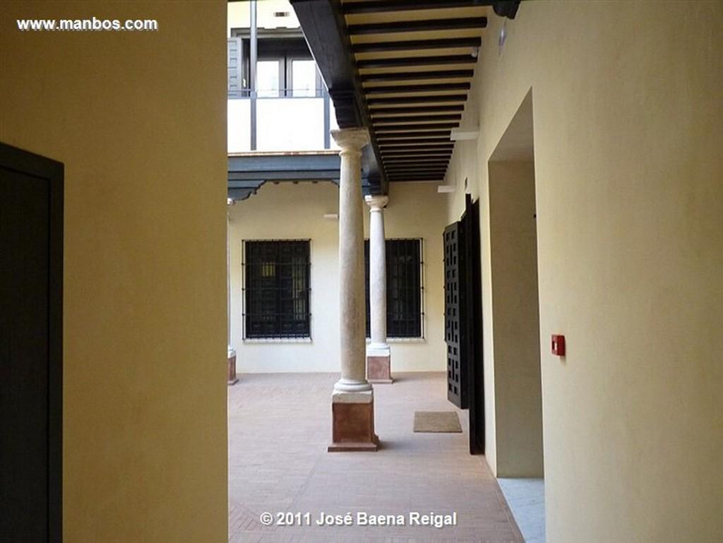Malaga Muralla y palacio Nazarita  Malaga